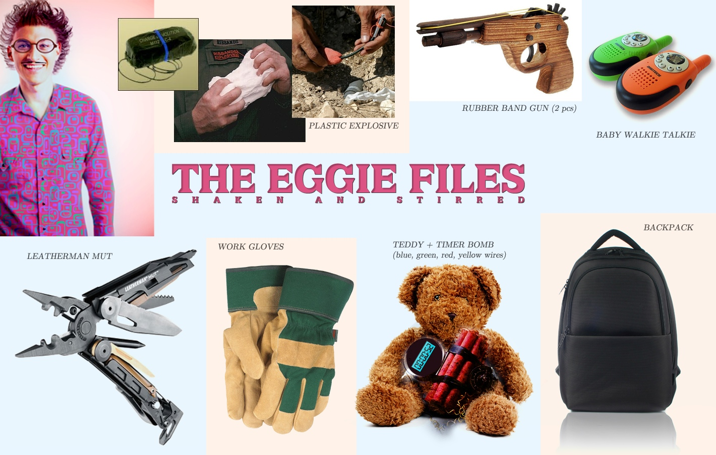 """Making of """"The Eggie Files"""" - Part 1"""