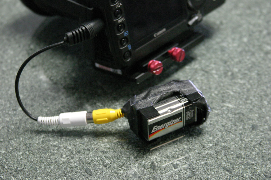 Inexpensive Hacked Wireless Video for DSLR Cameras - under $200