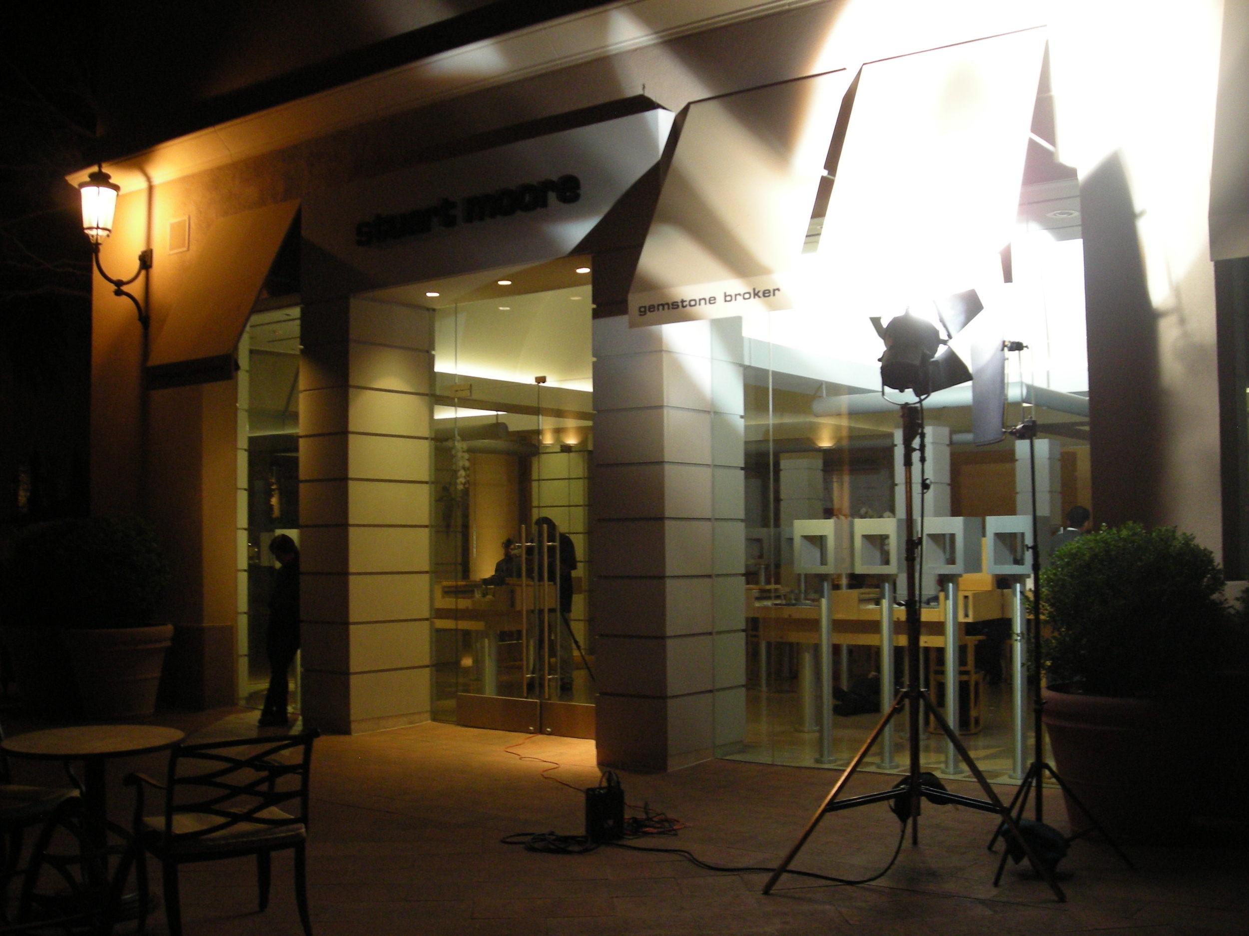 Kobold HMI Lights used for 5D Shoot