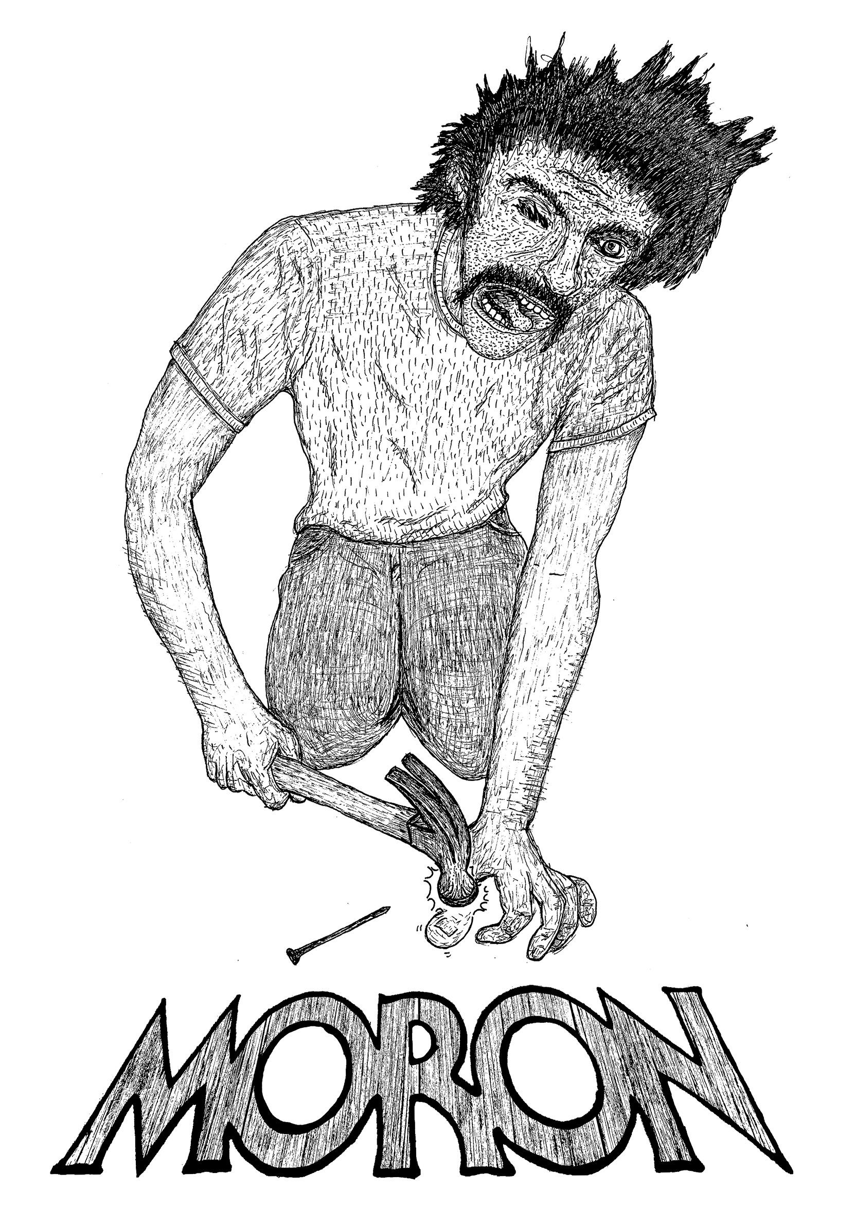 Moron Hammer Thumb T Shirt Facebook.jpg