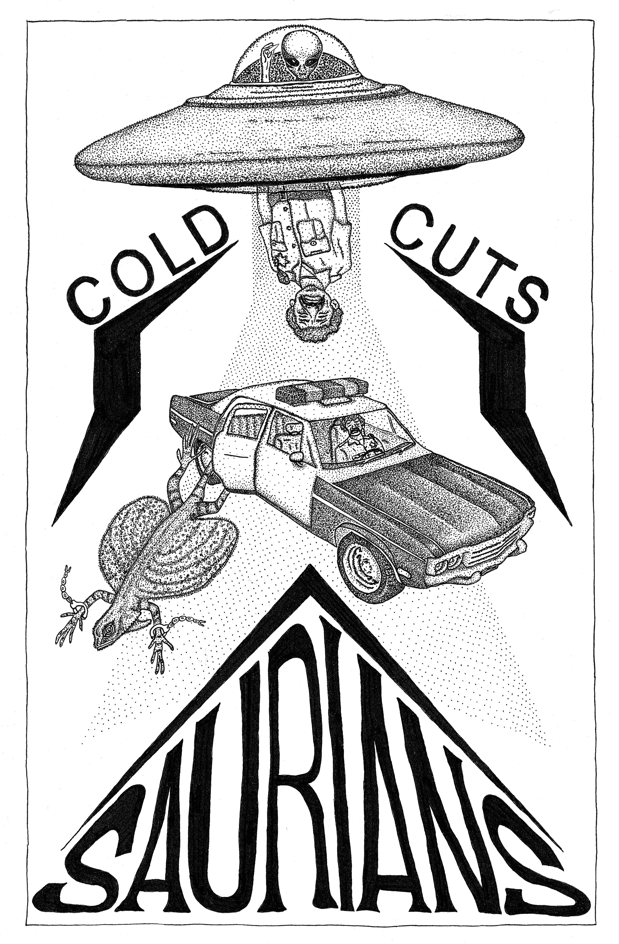 Saurians Cold Cuts Demo Cover Art Small.jpg