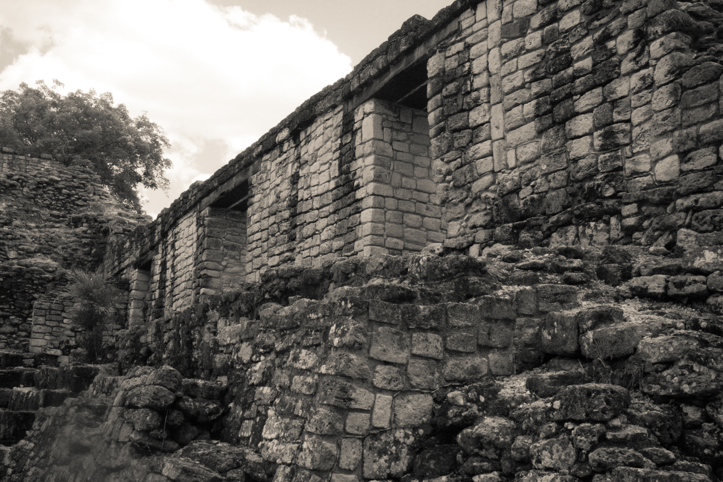 Mayan palace in Costa Maya