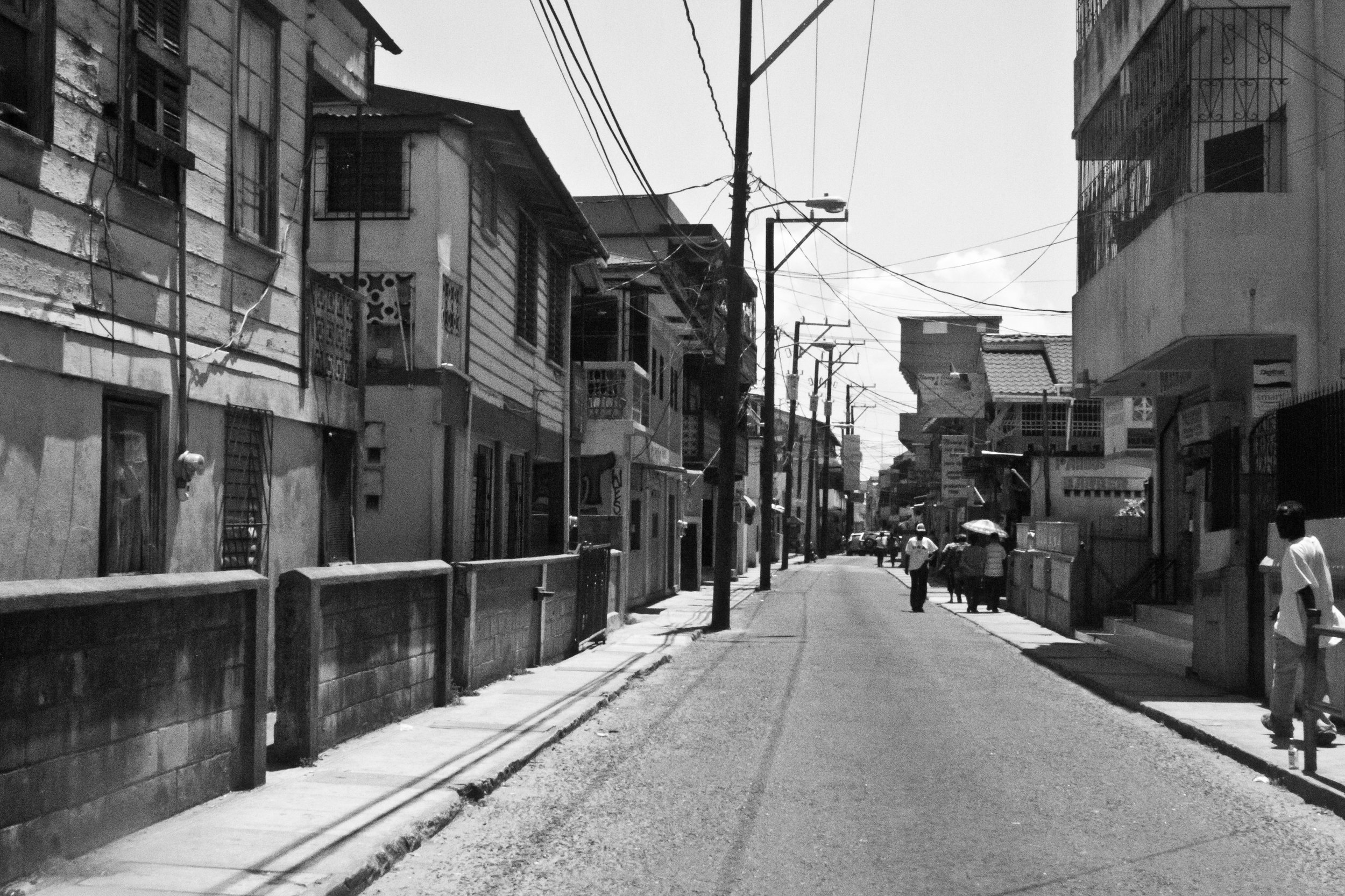 The streets of Belize