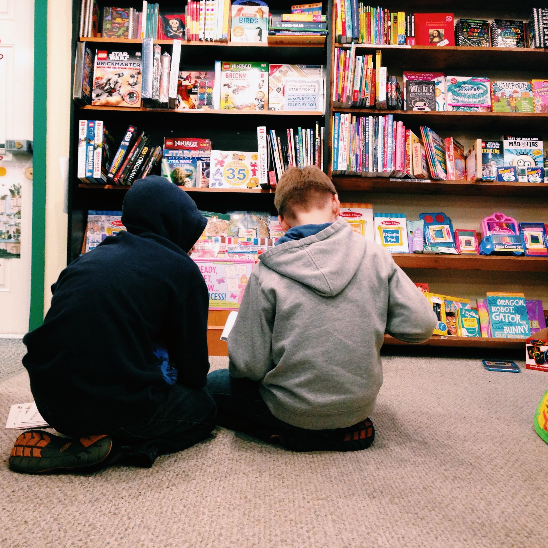 the good book huddle @  Eagle Harbor Book Co.