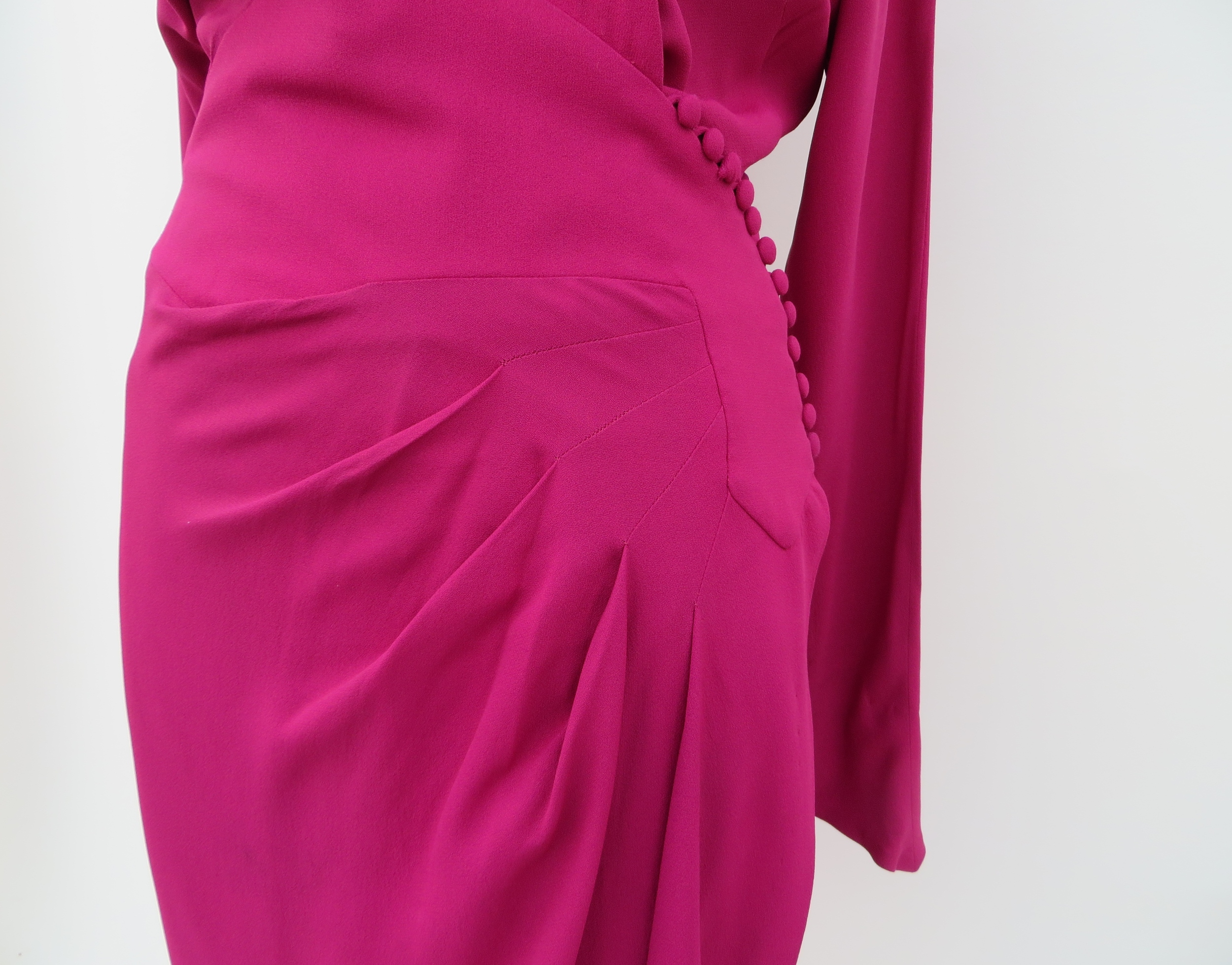 1930's crepe dress, available in the 4 Birds Vintage shop