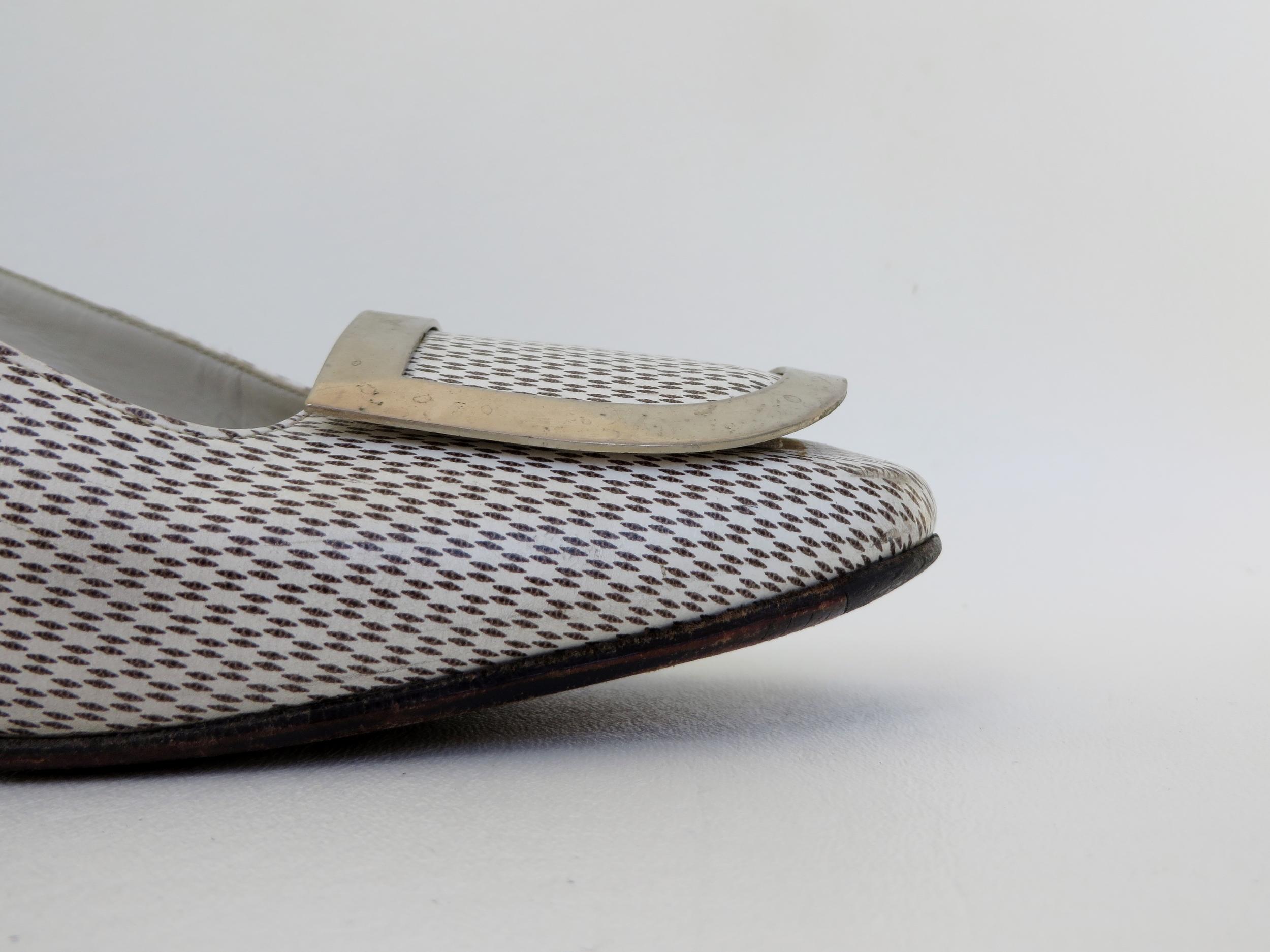 Vintage 1960's designer shoes by Roger Vivier of Paris, coming soon to  4 Birds Vintage