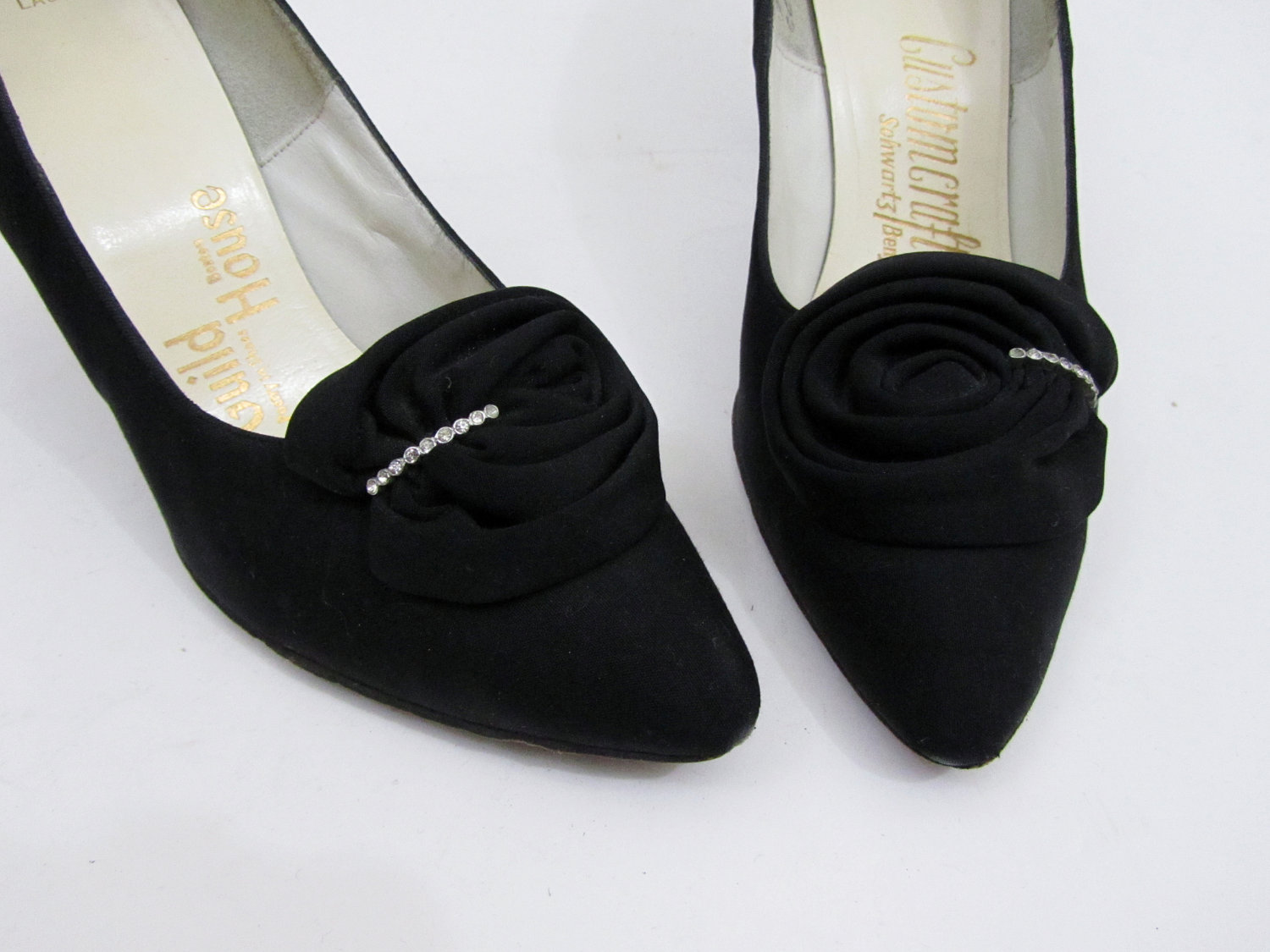 """1950's - 1960's shoes by Customcraft - """"Poetry in Shoes"""""""