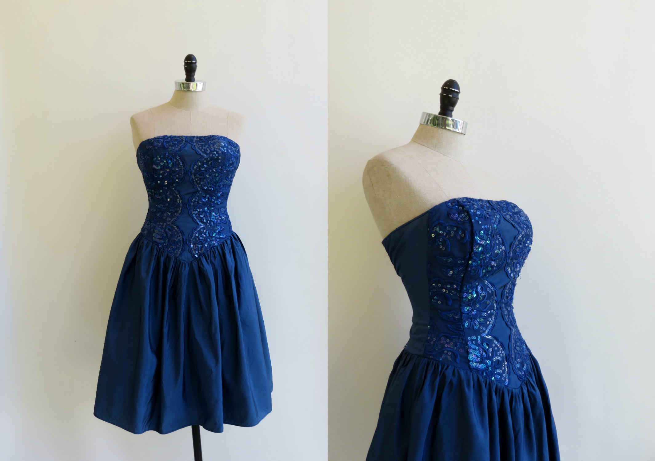 1980's party dress by GunneSax