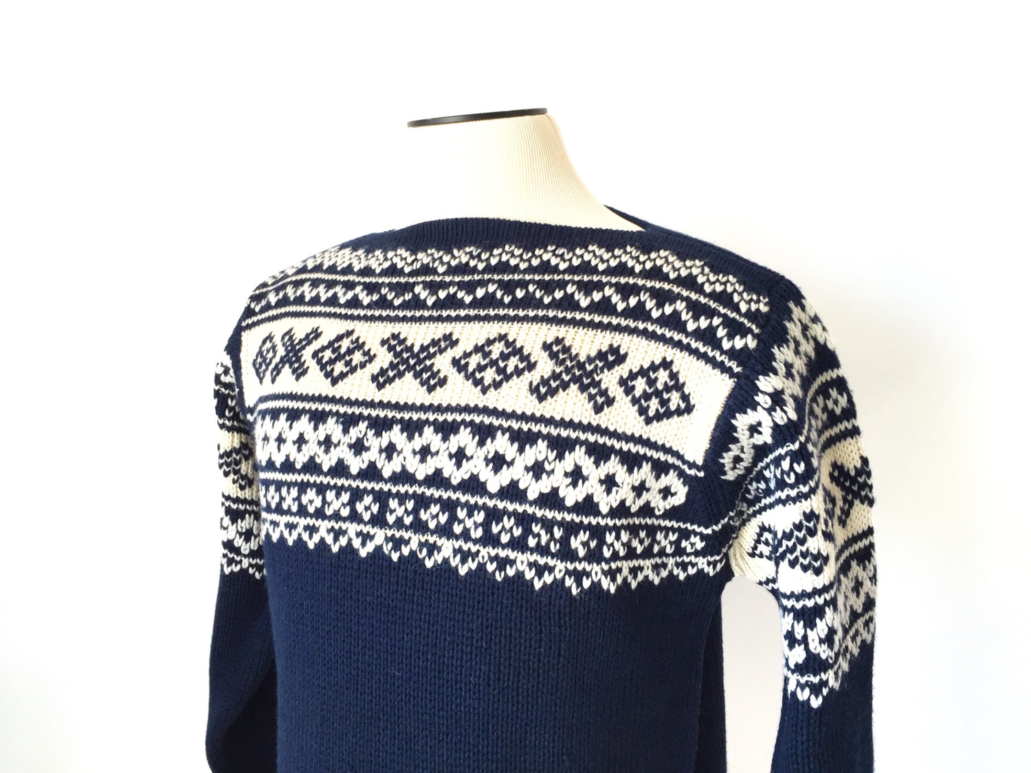 1960's Nordic style sweater by White Stag