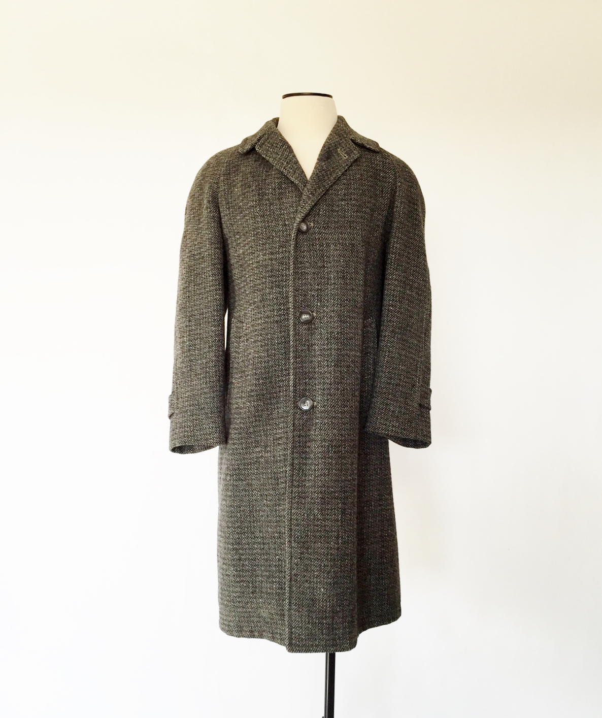 1930's overcoat in Harris Tweed
