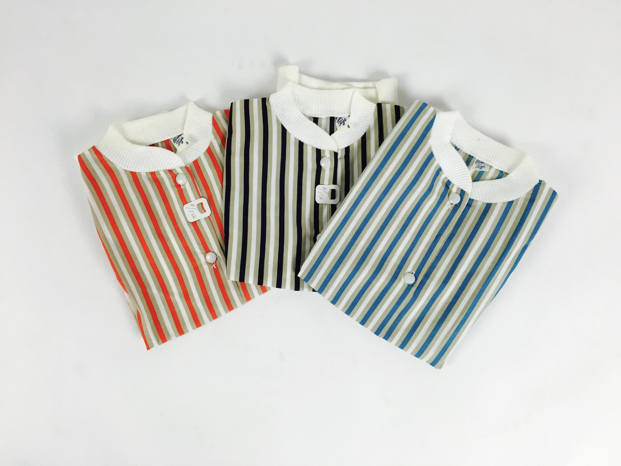 Vintage 1950's deadstock girls' shirts