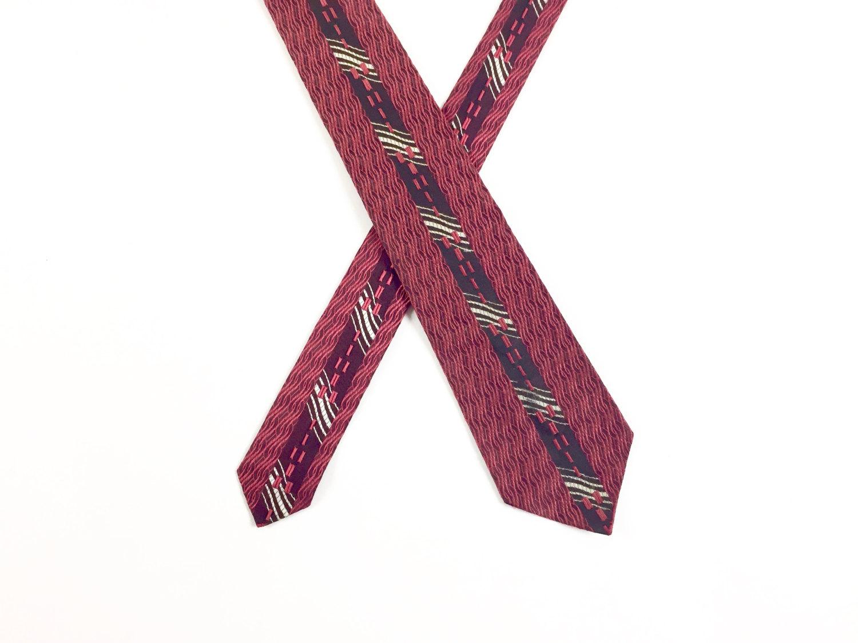 1960's Silk Brocade Necktie by Beau Brummell