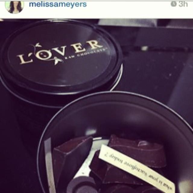 Melissa Meyers sharing the love !