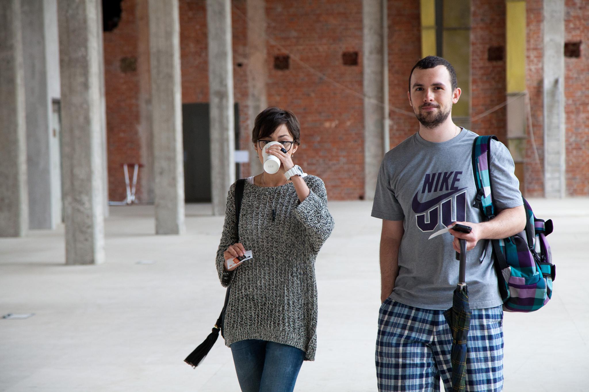 Алина Тестова и Дмитрий Кабанов
