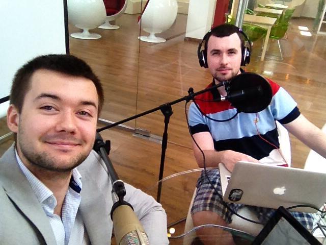 Герман Царев и Дмитрий Кабанов