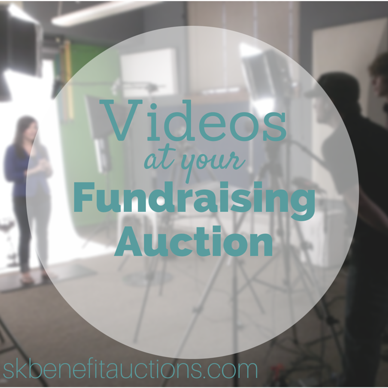 Using Videos to tell a story to raise more money at your Fundraising Auction | Sarah Knox Benefit Auctions