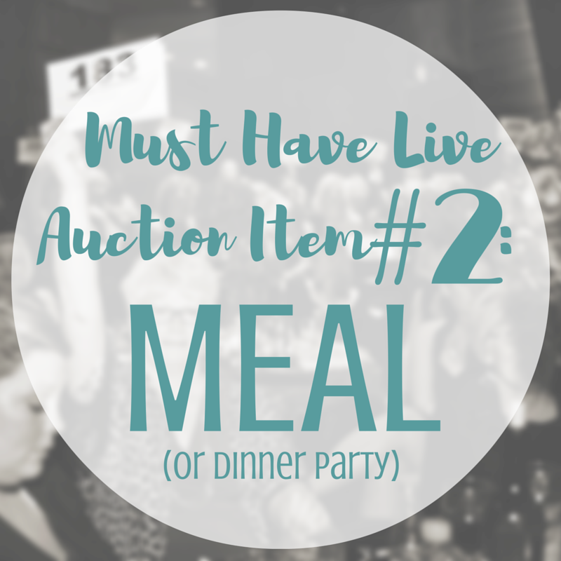 Including a Meal or Dinner party in your Live Auction | SK Benefit Auctions