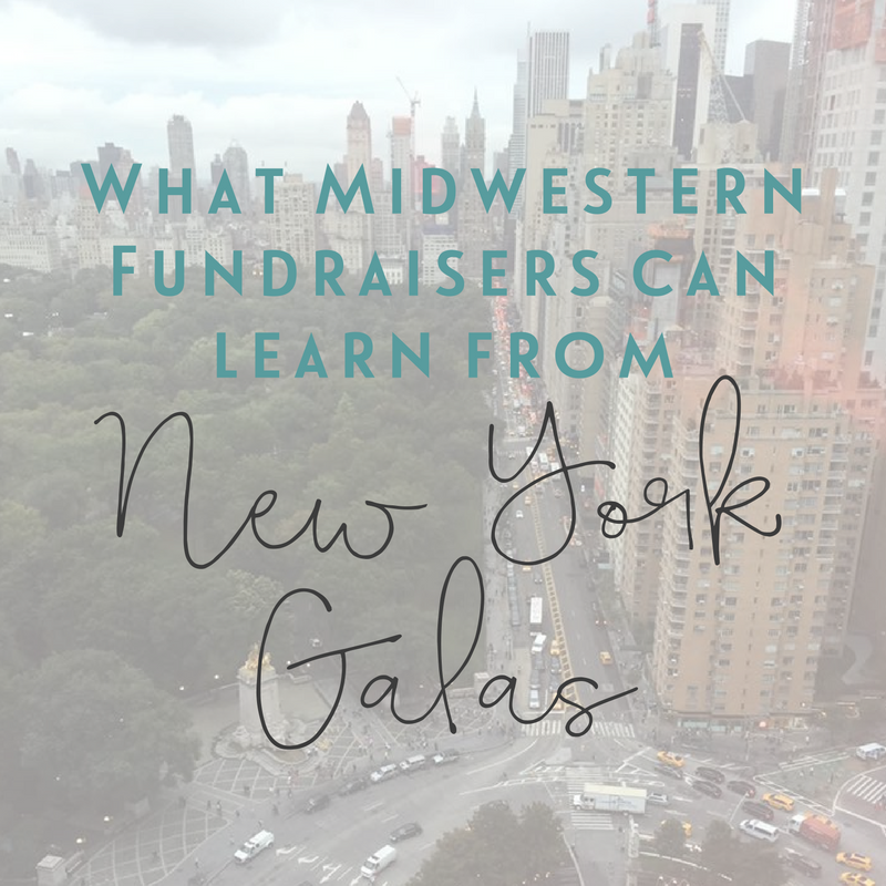 Sarah Knox Fundraising Event Auctioneer | What Midwestern Fundraisers Can Learn From New York Galas