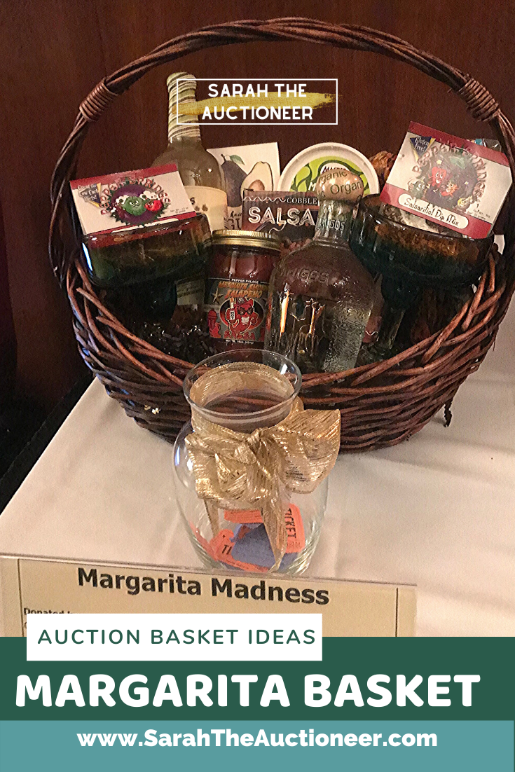 11 Ideas For Silent Auction Baskets Or Raffle Baskets Sarah Knox Auctioneer For Fundraising Benefit Charity Events