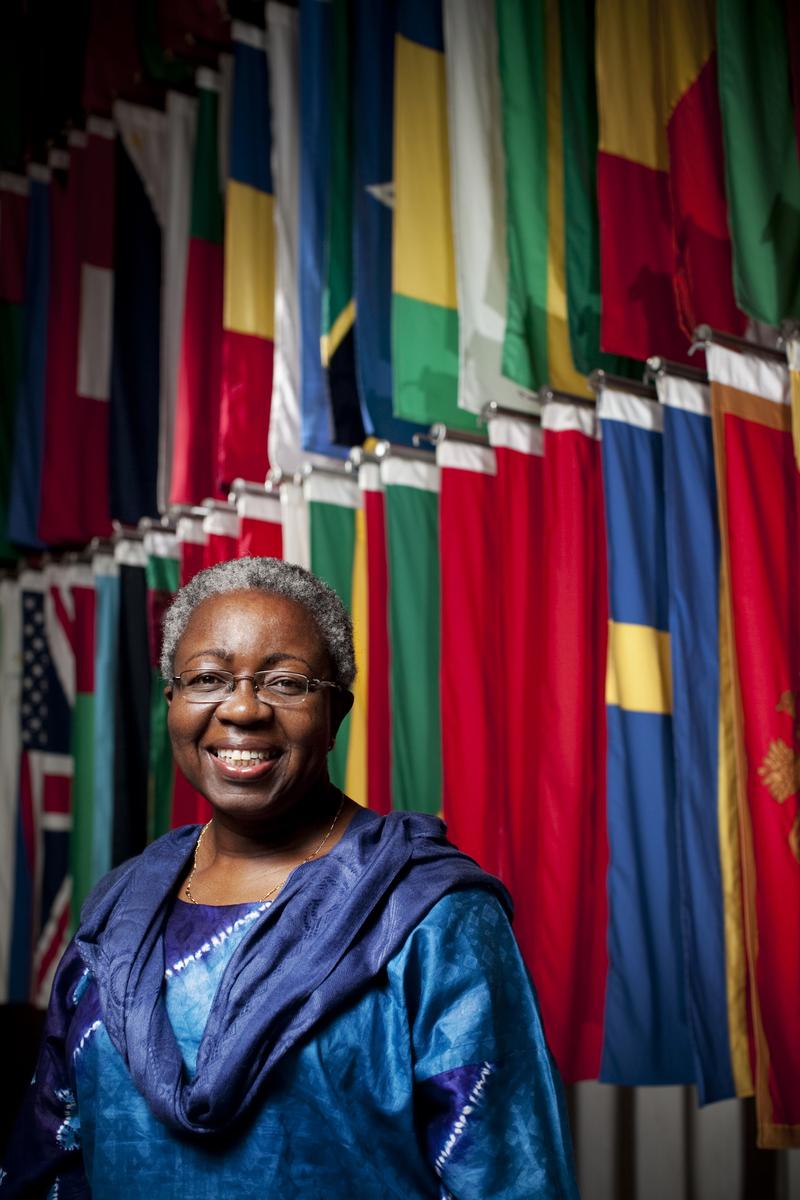 Juliana Oyegun Director of Diversity Programs at the World Bank