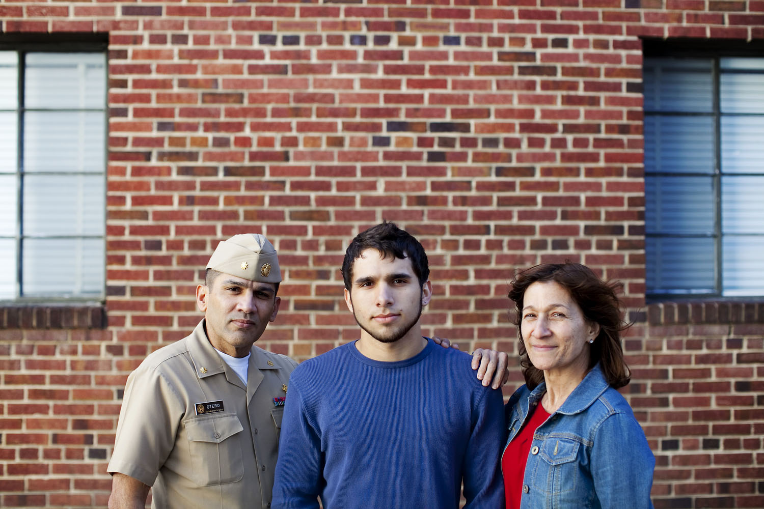 Jose Otero of Bethesda, MD with parents Jose and Elba both born in Puerto Rico.