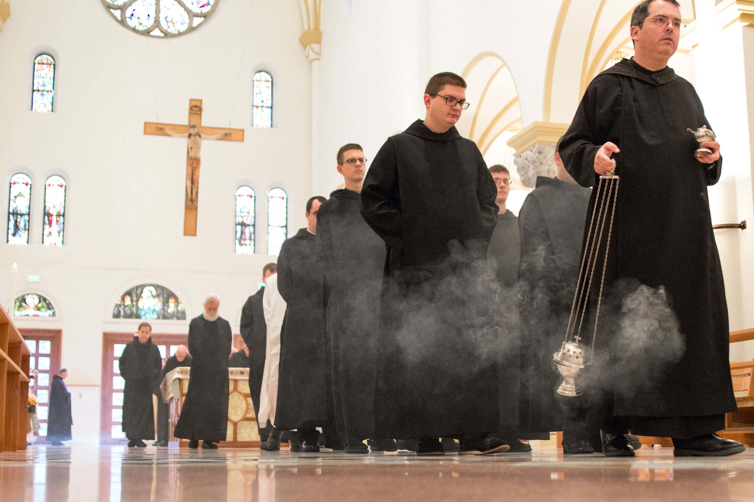The Benedictine Monks Of Saint Meinrad Archabbey, Saint Meinrad, Indiana
