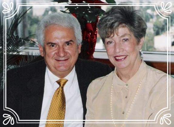 Fundadores en MÉXICO.  Lic. Gerardo Cándano y Maruja Cándano