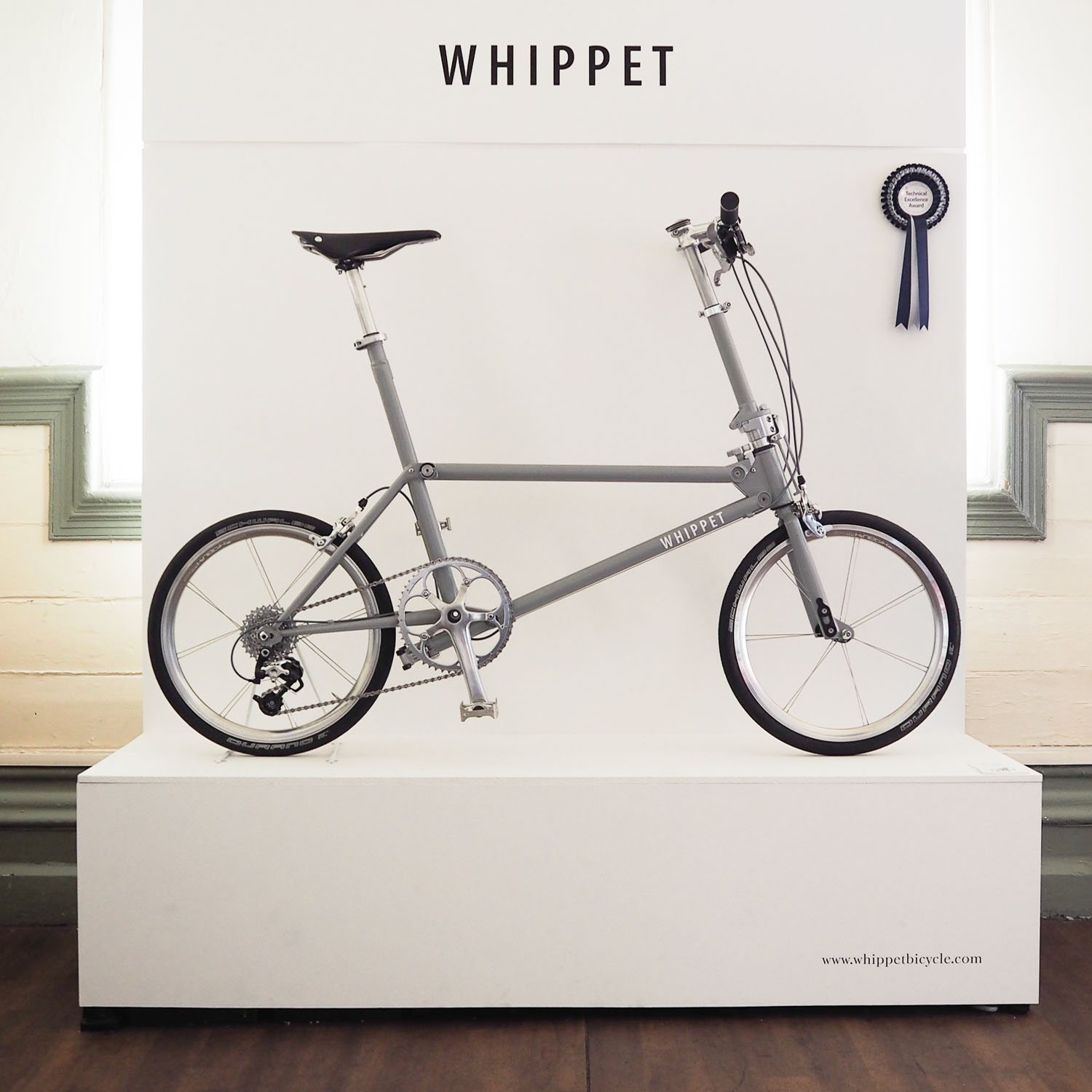 WHIPPET BICYCLE at Bespoked 2017 - stand- Graham-Powell.jpg