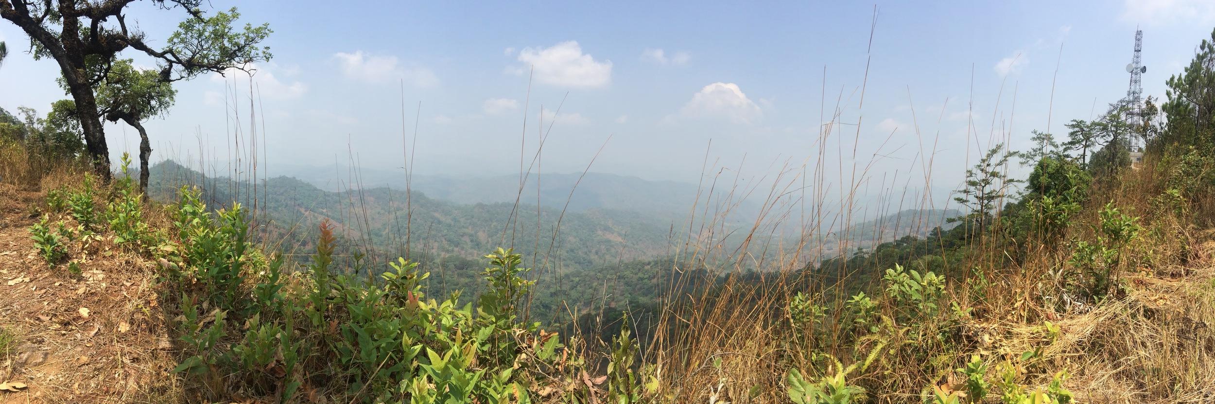Somewhere in Mae Hong Son