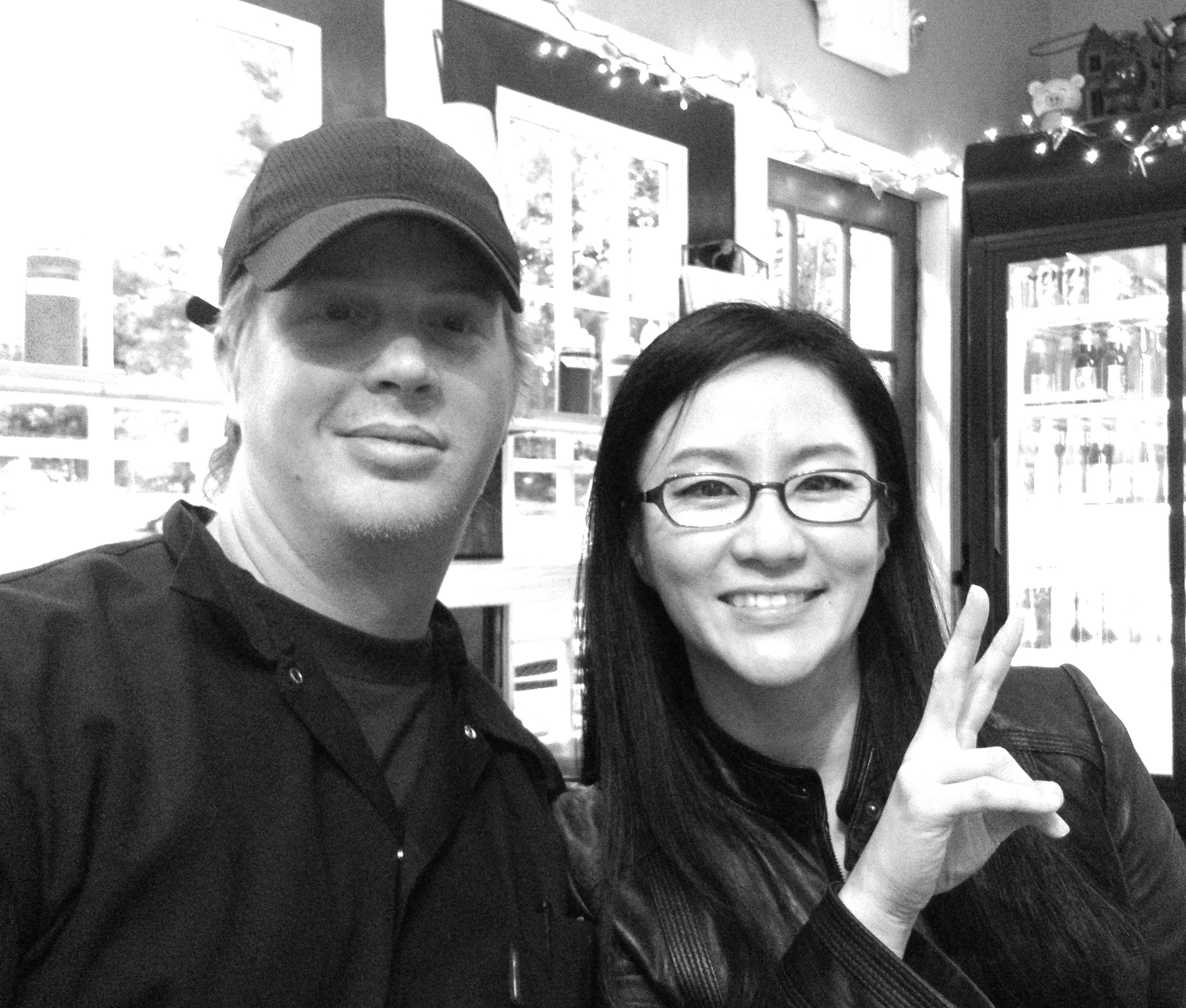Cody Taylor and Jiyeon Lee, chefs and owners at Heirloom Market BBQ, Atlanta