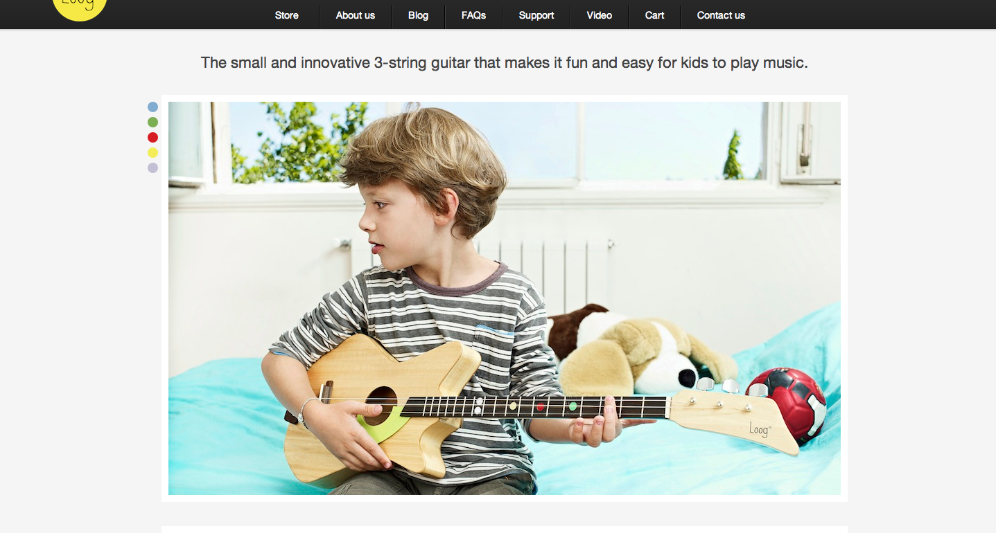 What can we say?? We love our Loog!