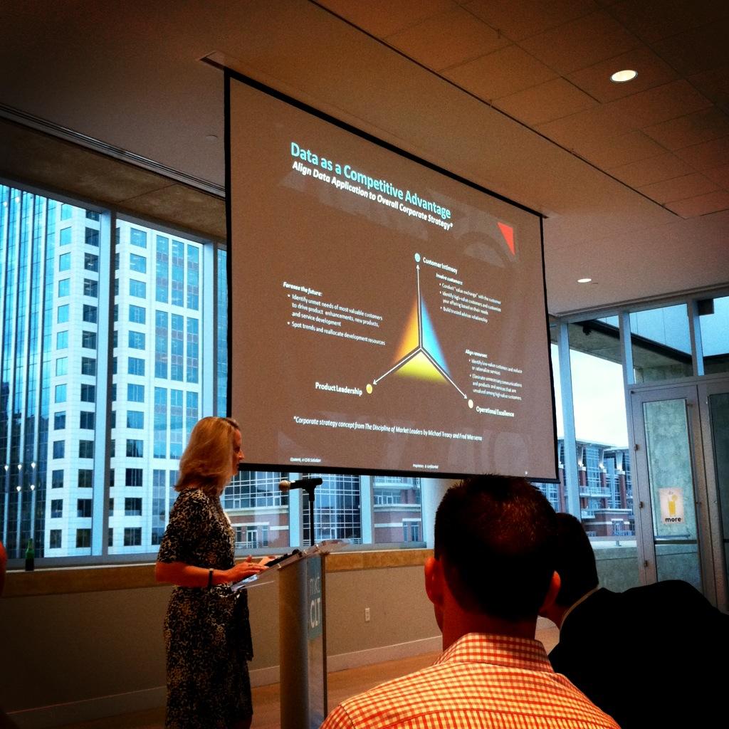 Data as a Competitive Advantage  Stephanie Reese of  Quaero