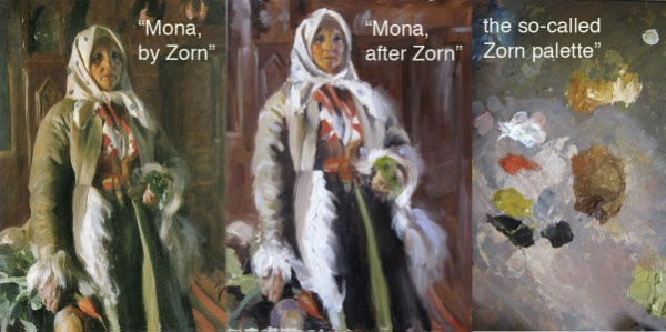 Mona after Zorn