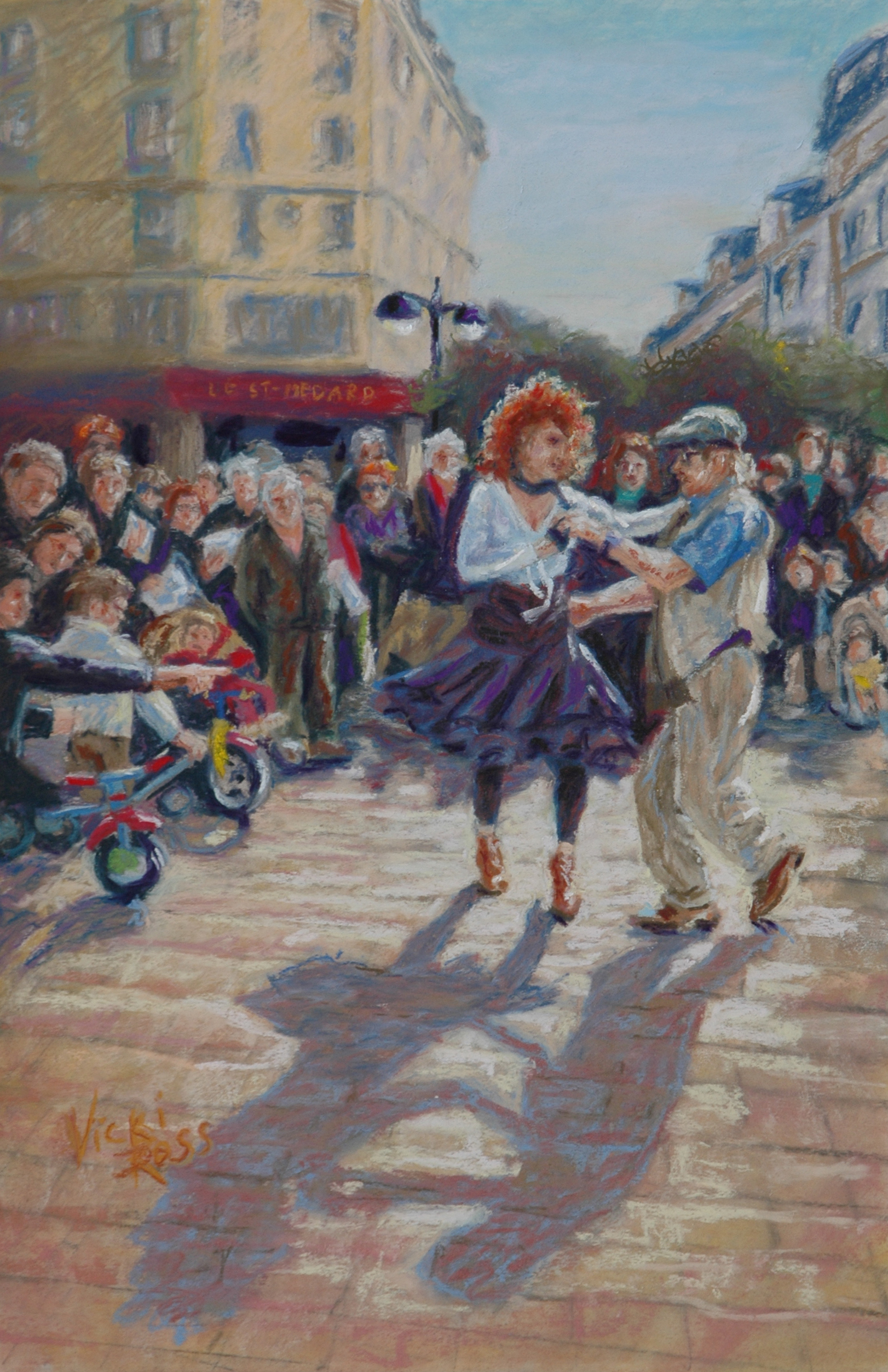 Parisian Dancers