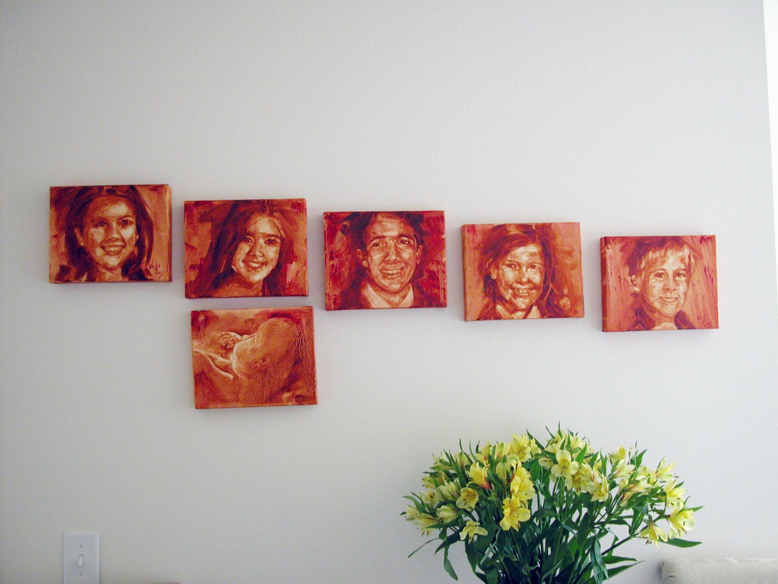 The Grands: Sarah, Betsy, Bill and Great Grands: Rip, Tyler, & in utero Liam