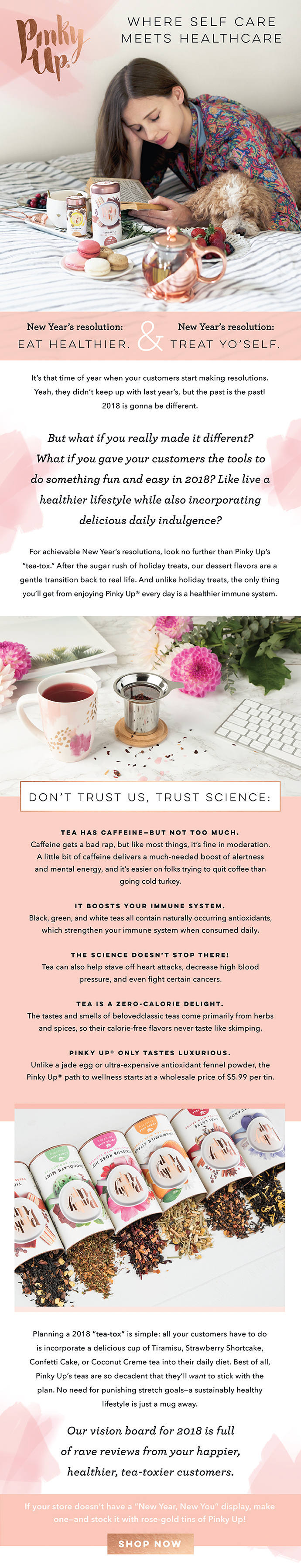Self Care with Tea Email