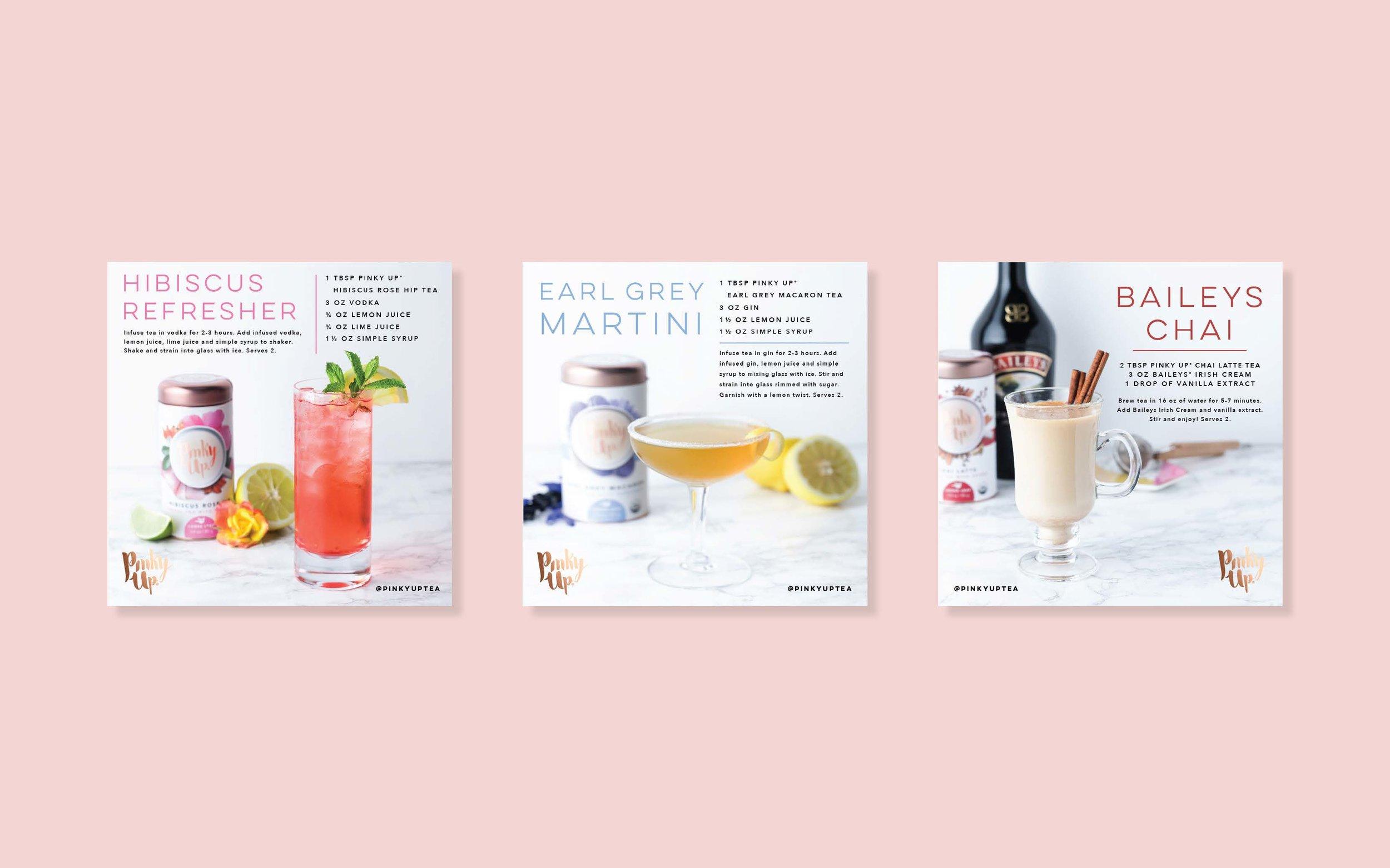 Social Media Cocktail Recipes