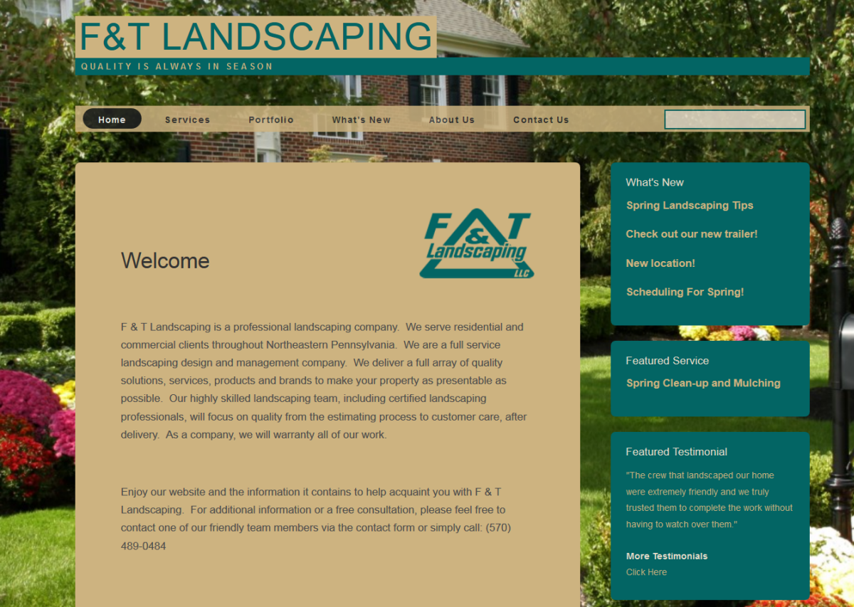 Website Features