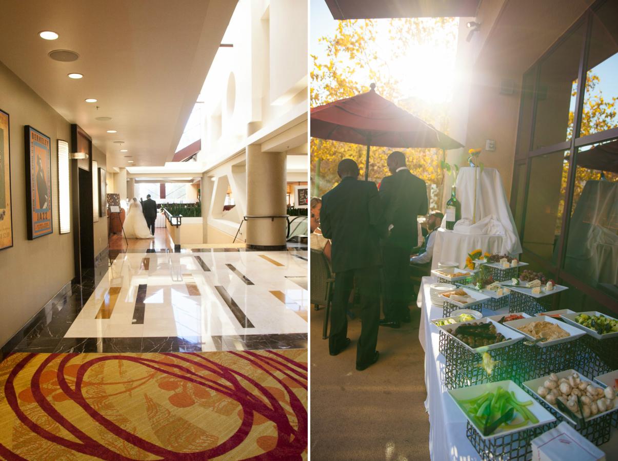 oakland marriott wedding reception