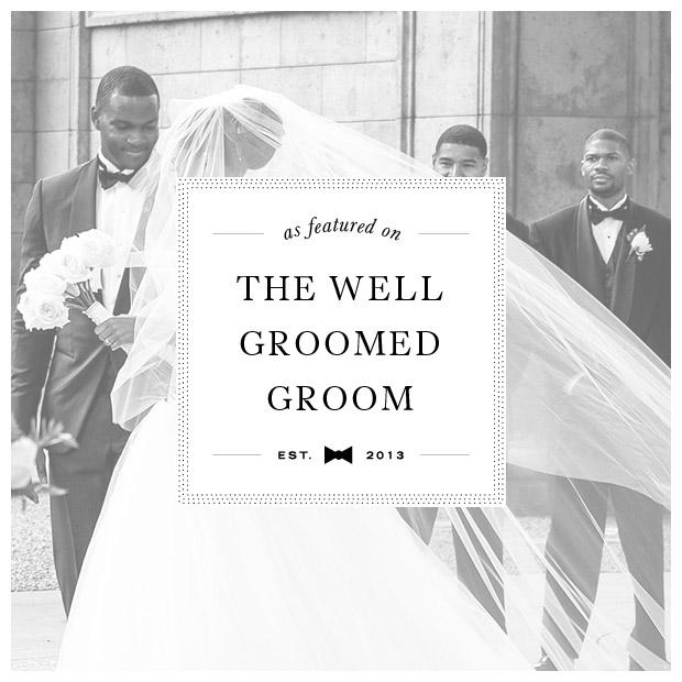 well groomed groom