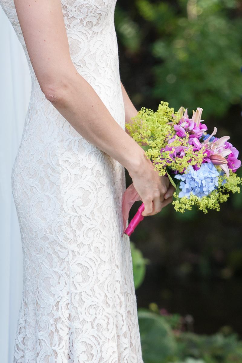 garden bride bouquet