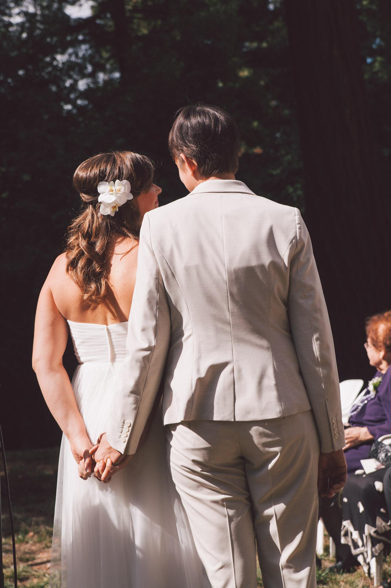central valley lesbian wedding