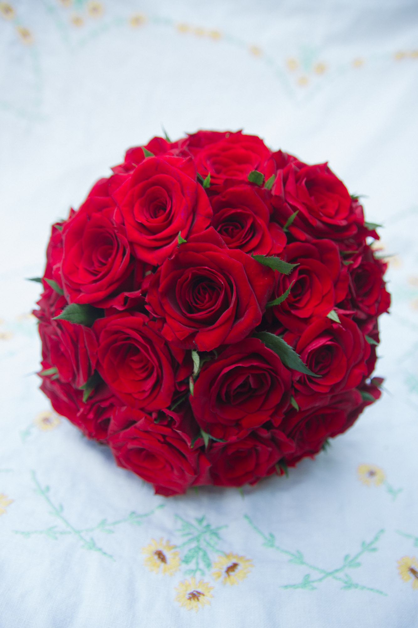 red rose bouquet