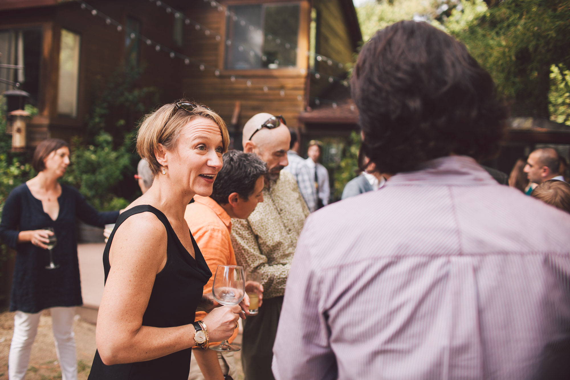 redwood wedding reception