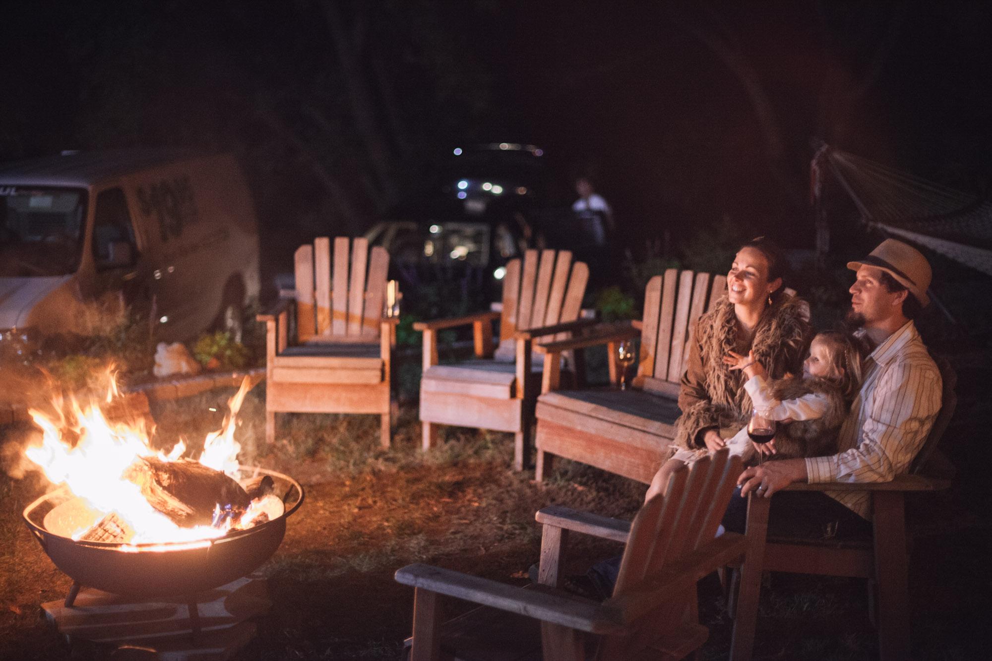 campfire wedding