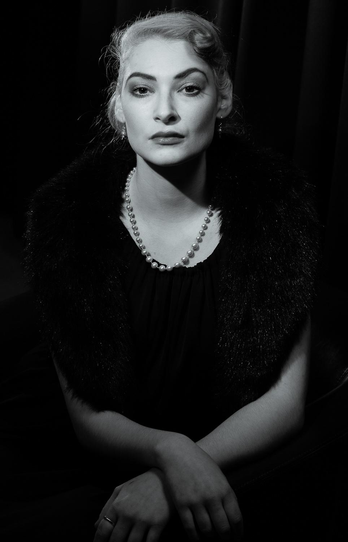 modest portrait photography