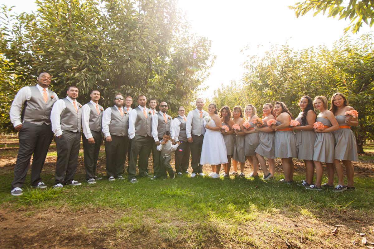 modesto country wedding photography