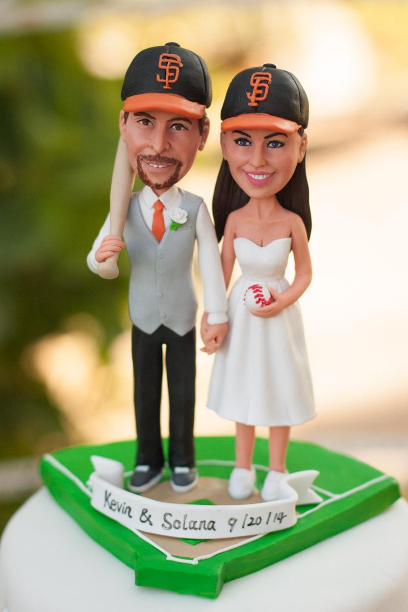 SF giants wedding