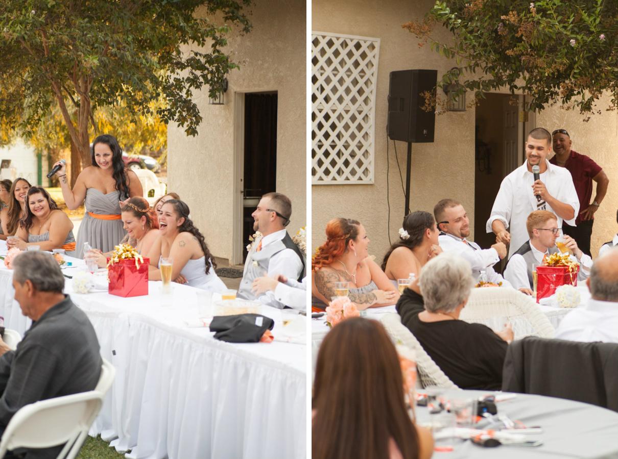 wedding toast fist bump