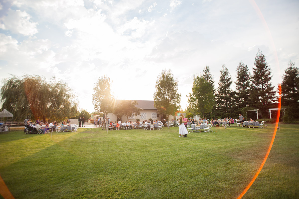 central valley country wedding